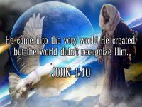 John 1 Verse 10 NLT