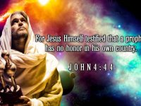John 4 Verse 44 ESV