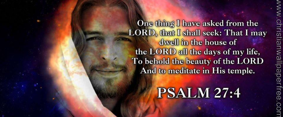 Psalm 27 Verse 4 NAS