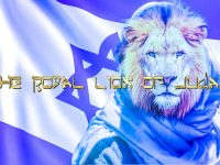 The Royal Lion Of Judah With Graphic