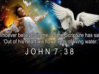 John 7 Verse 38 ESV