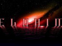 Elohim Gradient Logo On Galaxy