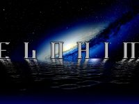 Elohim Logo On Galaxy