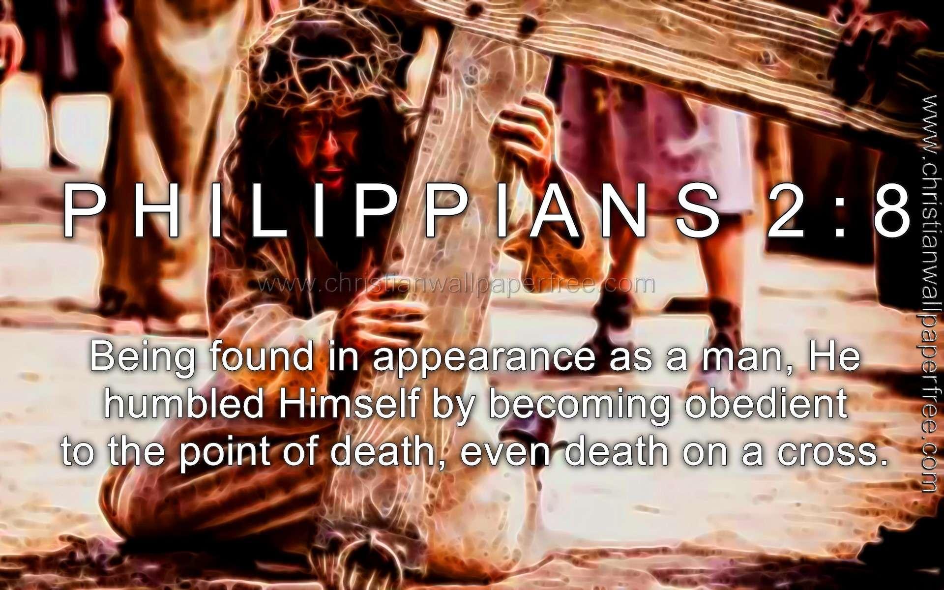 Philippians 2 Verse 8