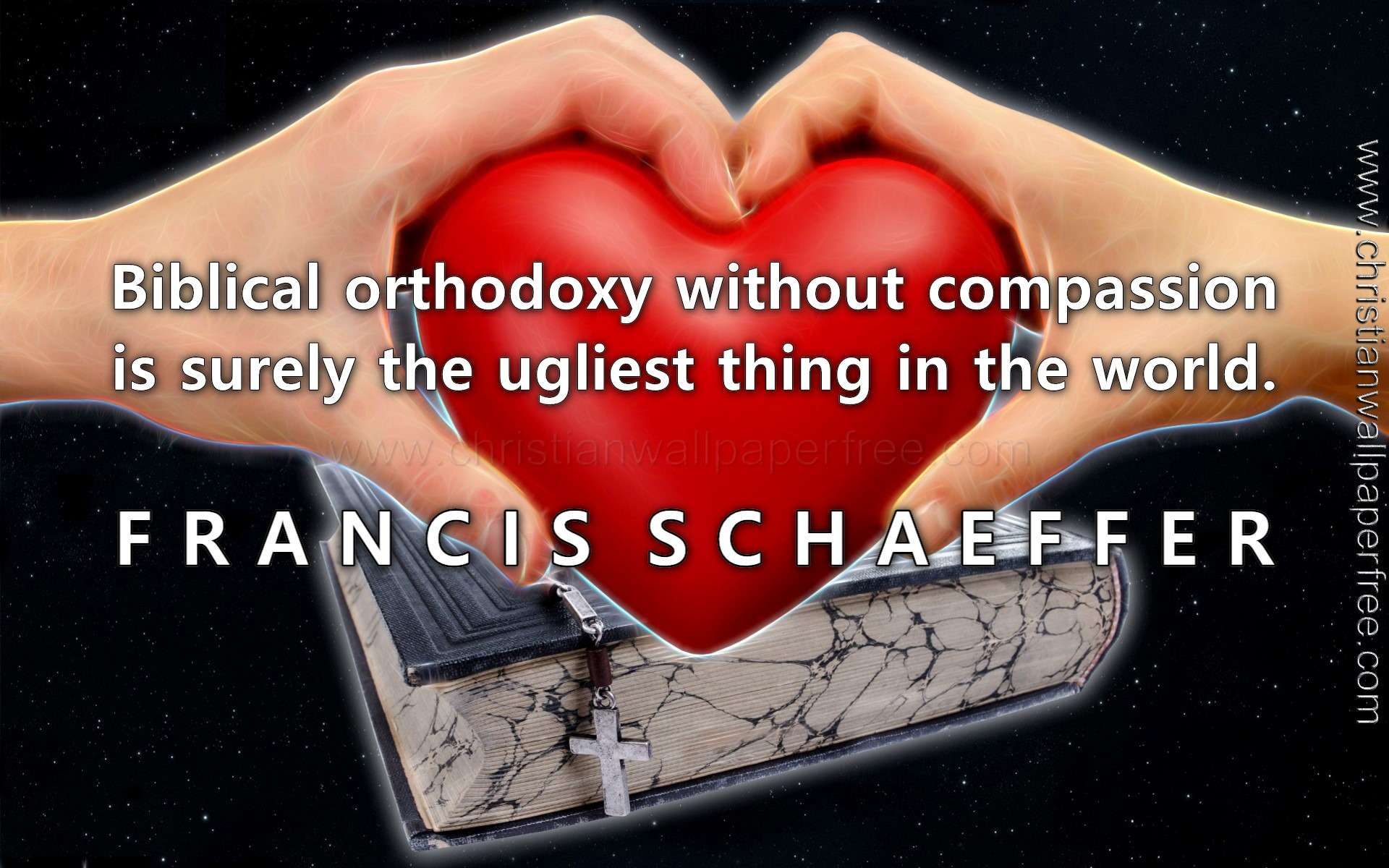 Compassion Quote Francis Schaeffer