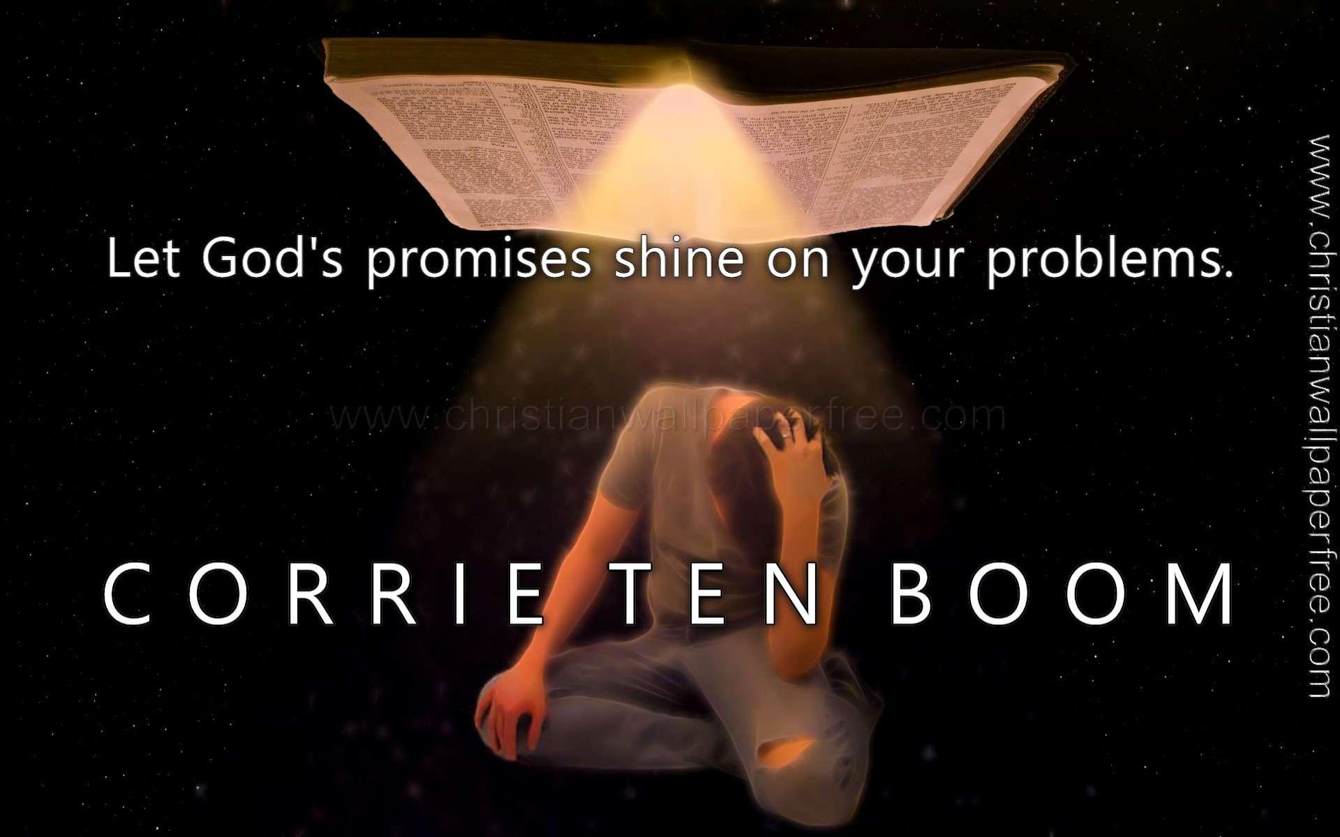 Gods Promises Quote Corrie Ten Boom