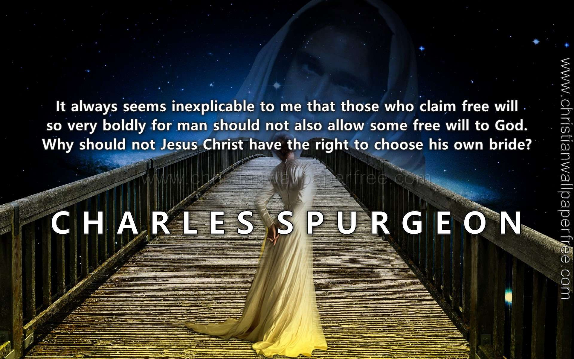 Jesus Bride Quote Charles Spurgeon