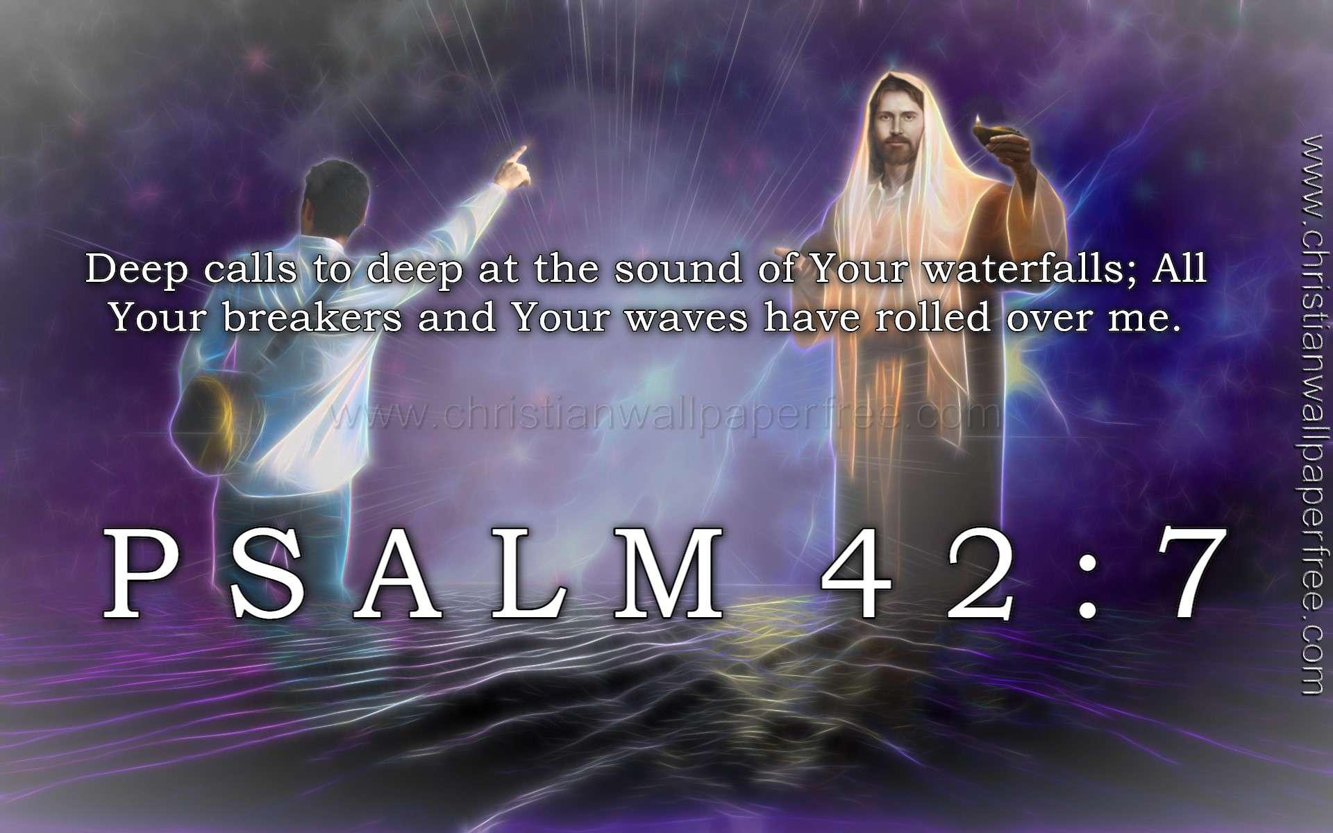 Psalm 42 Verse 7