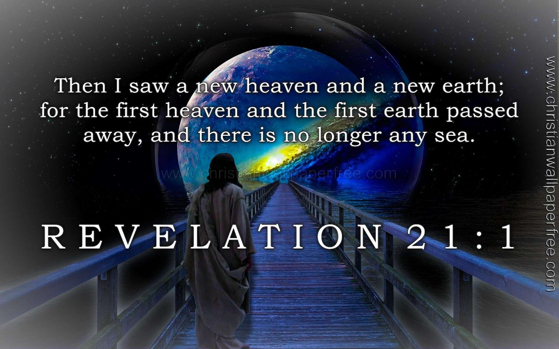 Revelation 21 Verse 1