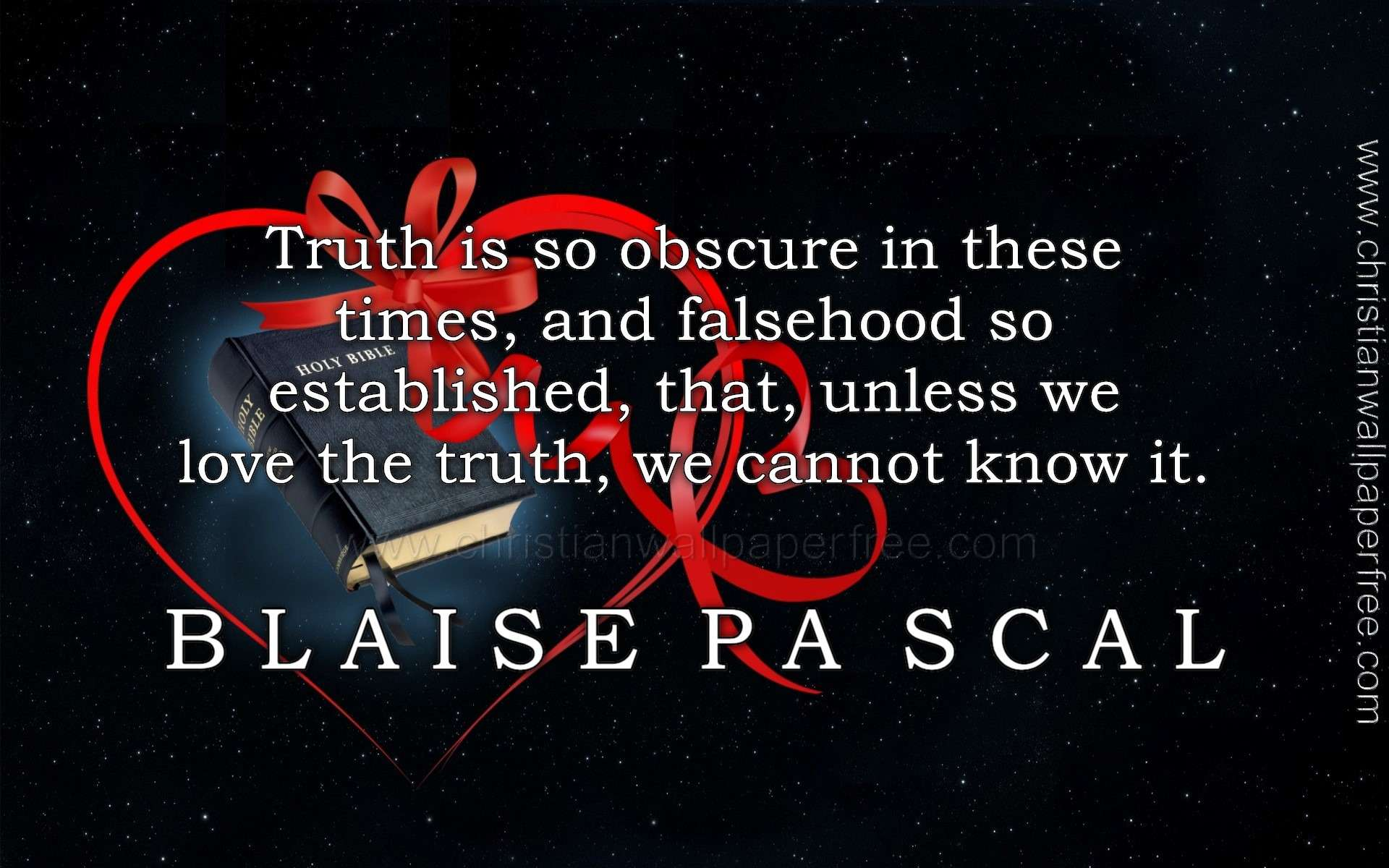 Truth Quote Blaise Pascal