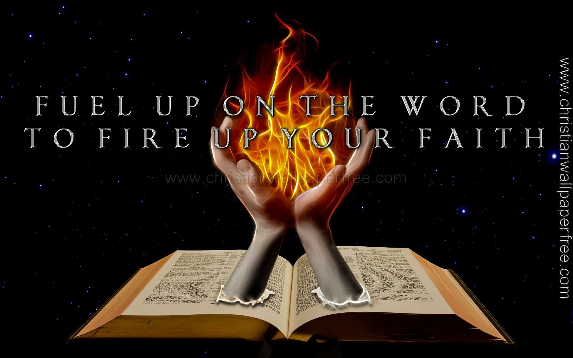 Fuel Up on the Word to Fire Up Your Faith