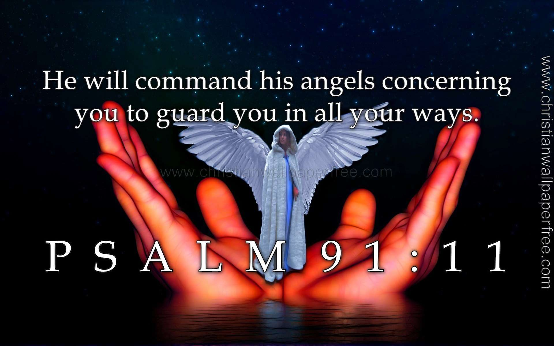 Psalm 91 Verse 11 Quote
