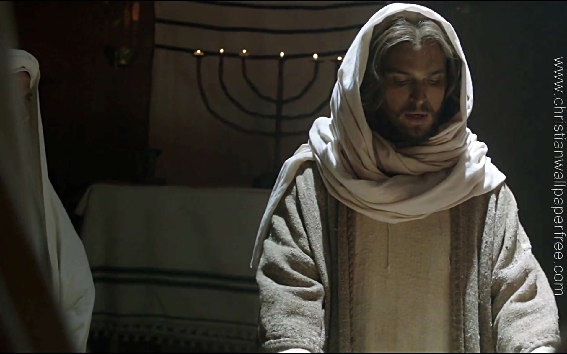 Son of God Jesus Teaches at the Synagogue 01